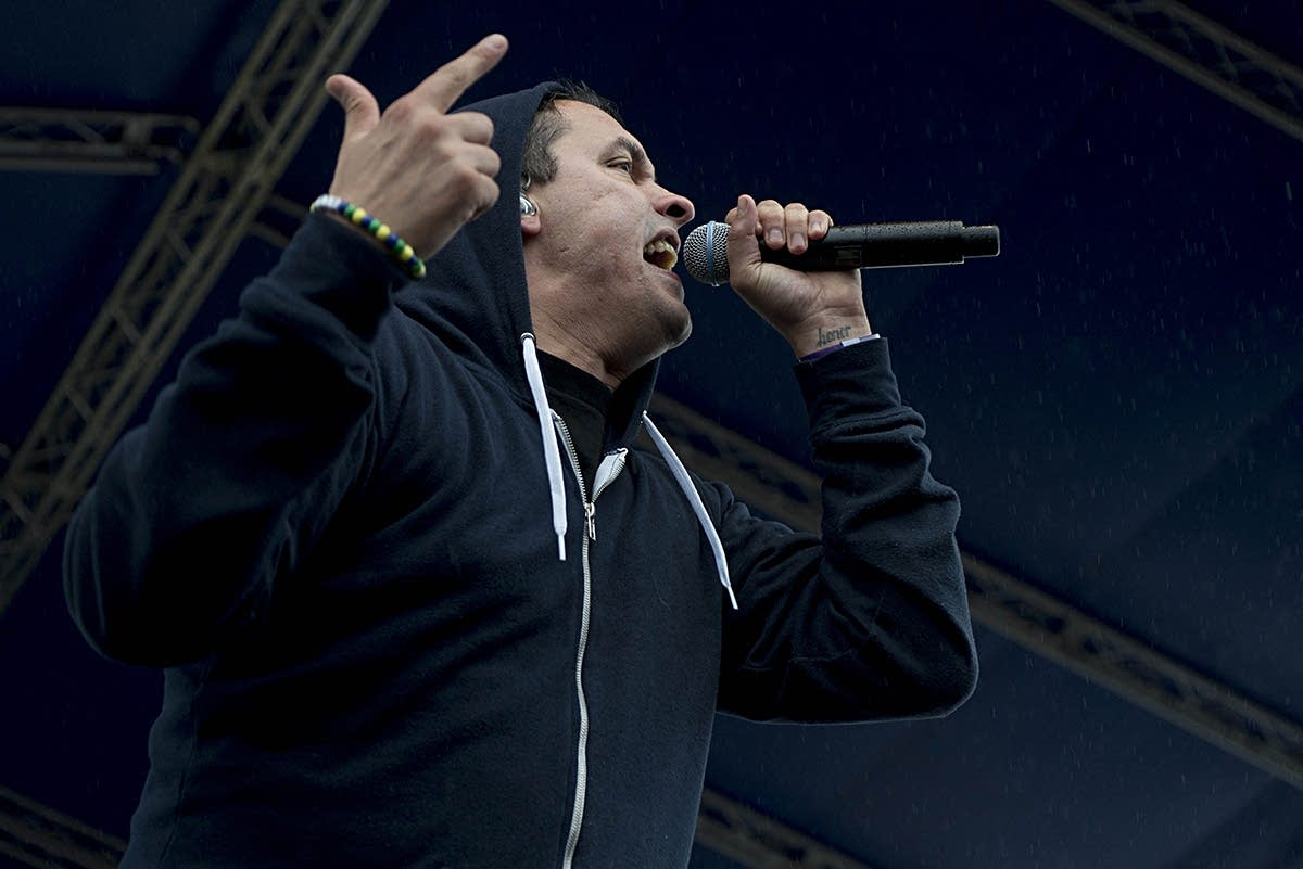 Atmosphere performing at Soundset 2015