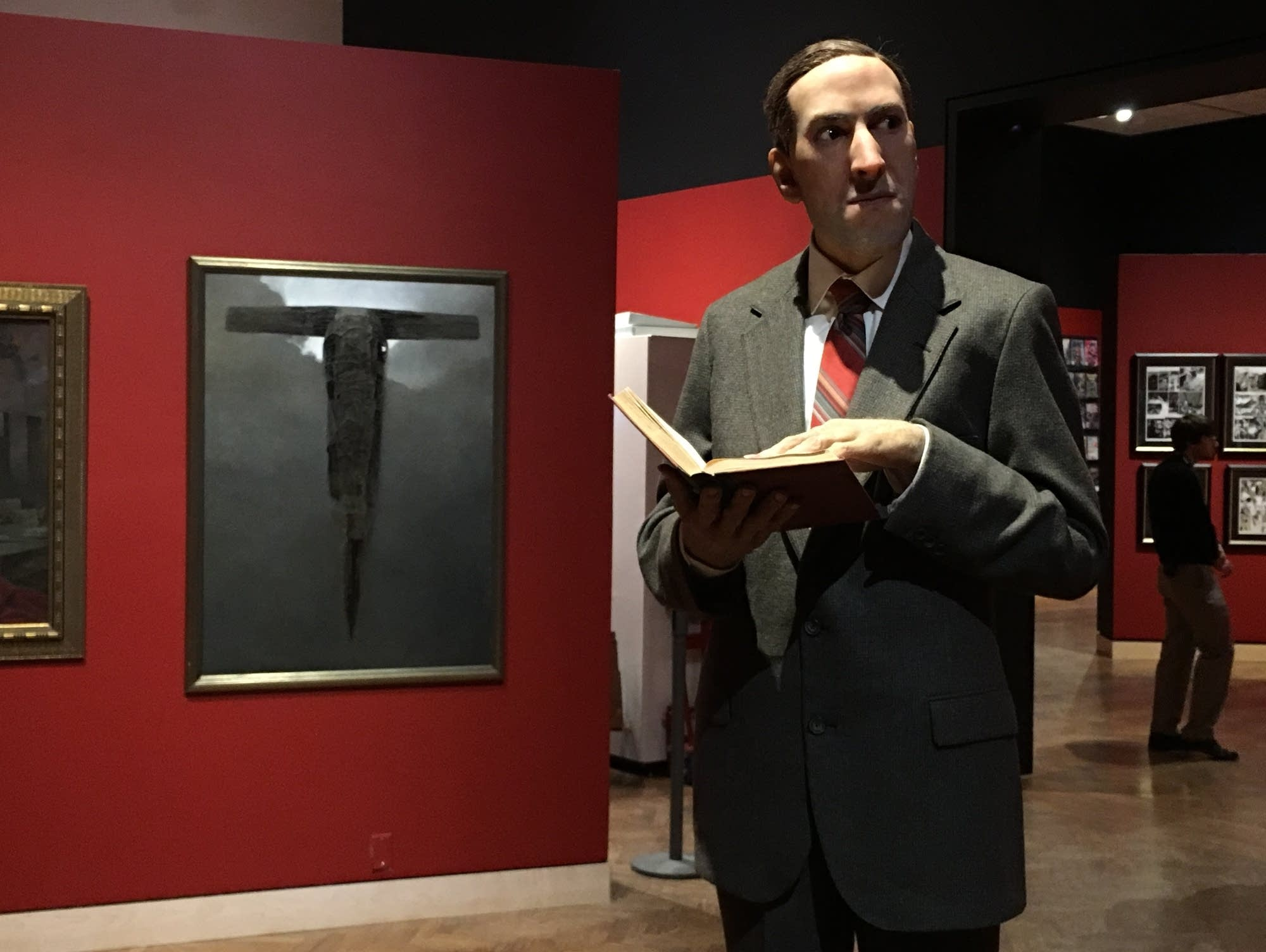 A model of the author H.P. Lovecraft