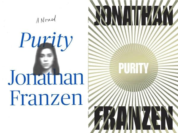 The U.S. and U.K. covers of 'Purity'