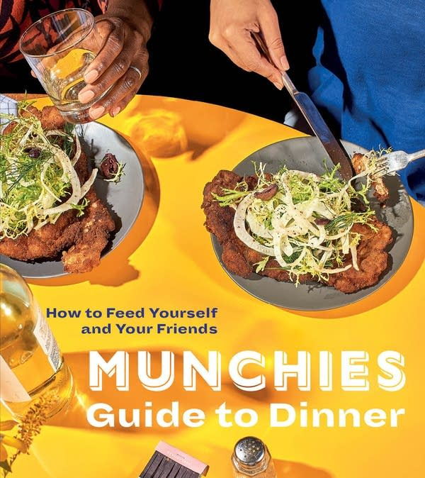 Munchies guide to dinner book cover