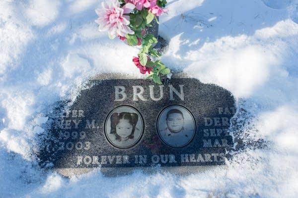 Derrick Brun's grave