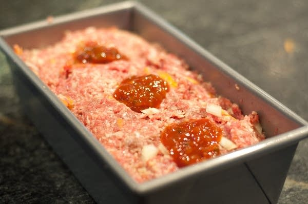Raw meatloaf