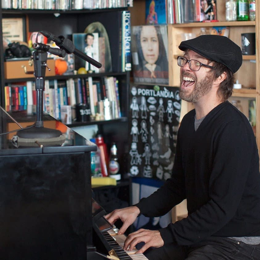 Ben Folds performs at NPR Music's Tiny Desk