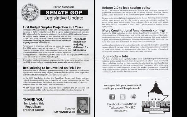 GOP brochures