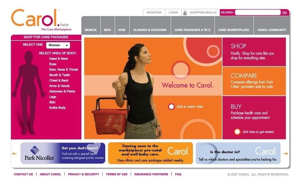 Carol site