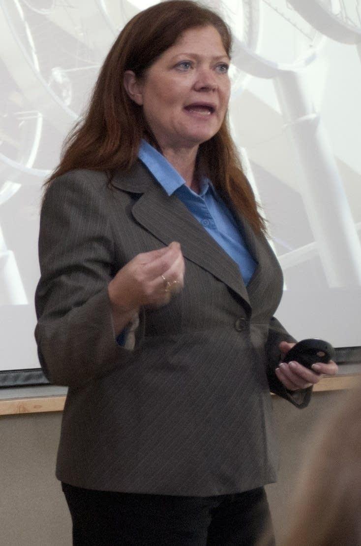 Public defender Christine Funk
