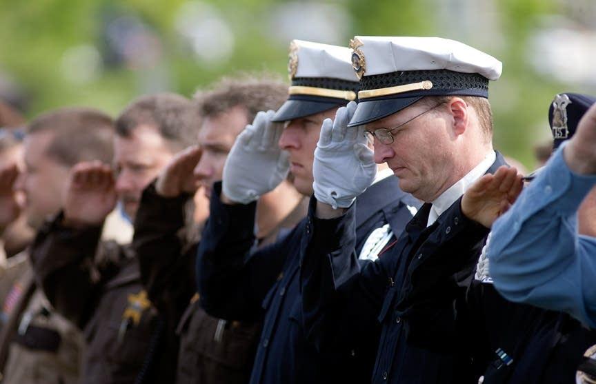 Officer salute