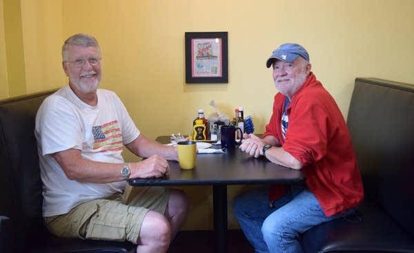 Paul Wiens and Mark Stenberg are long-time friends.