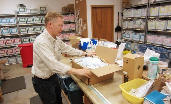 Scott Lien, operations director for Global Health
