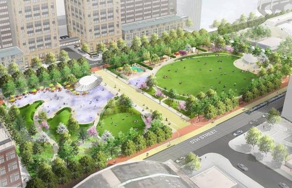 Downtown East rendering