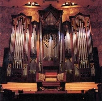 1990 Möller organ at Calvary Church, Charlotte, NC
