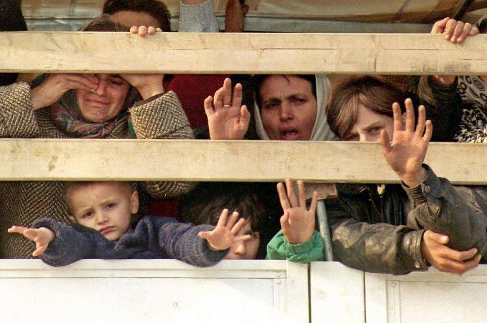 Bosnian refugees