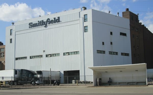 The Smithfield pork processing plant in Sioux Falls, S.D.
