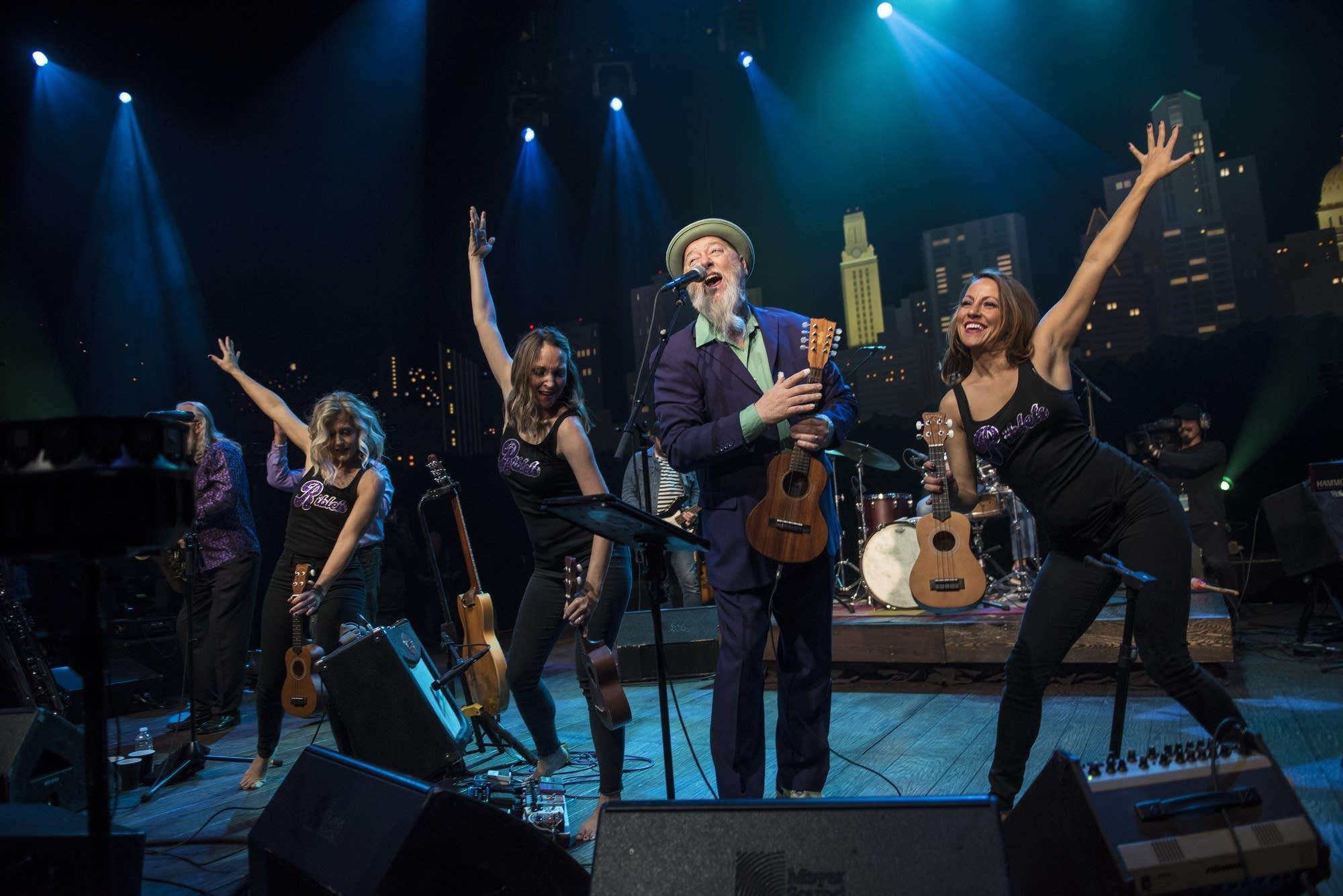 Shinyribs performing on 'Austin City Limits'