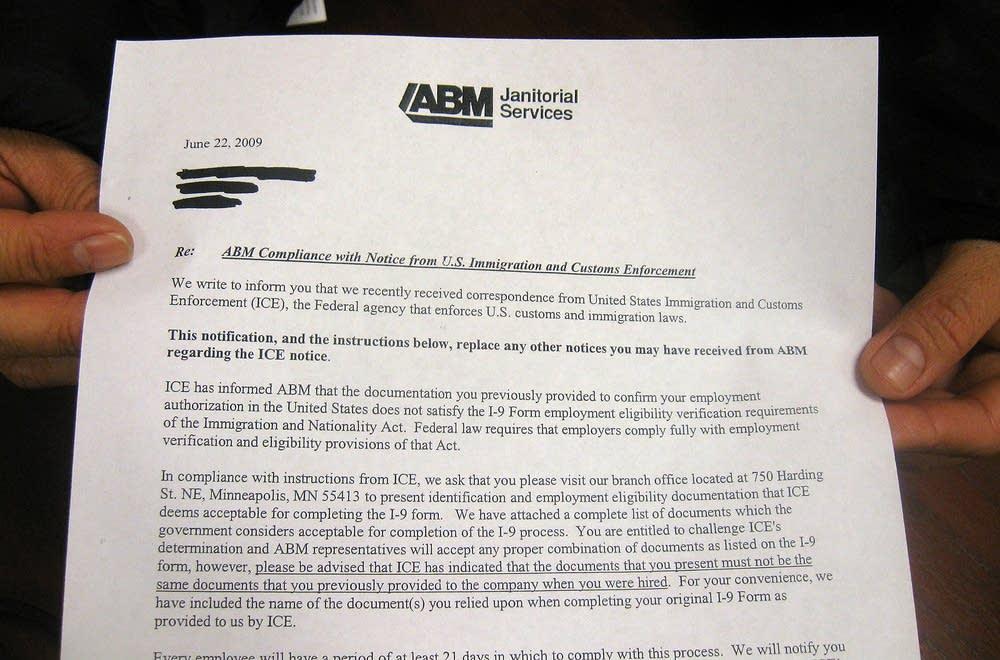 ABM letter