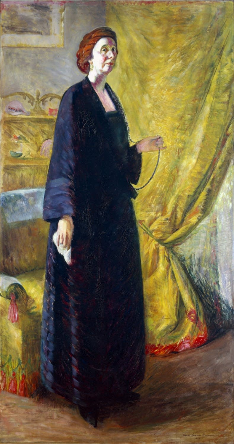 Portrait of Clara Mairs