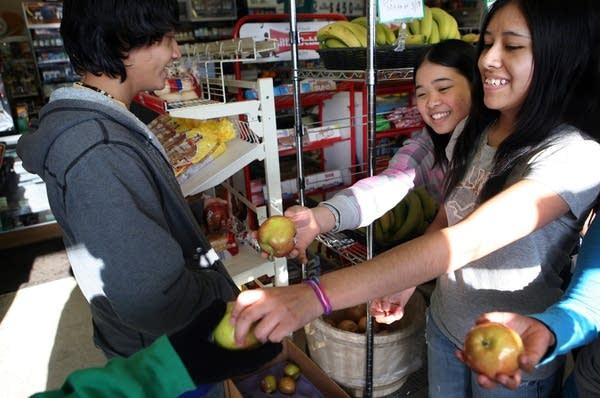 Selling healthy foods