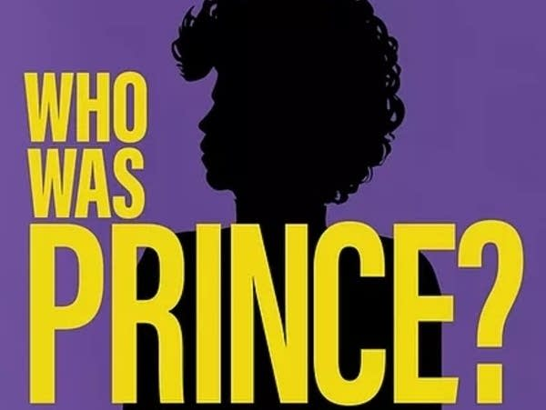 Who Was Prince? podcast image with silhouette.