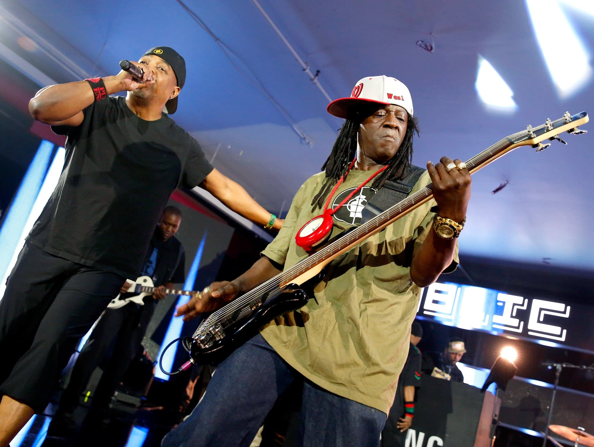 Chuck D and Flavor Flav of Public Enemy perform at SXSW in 2016.
