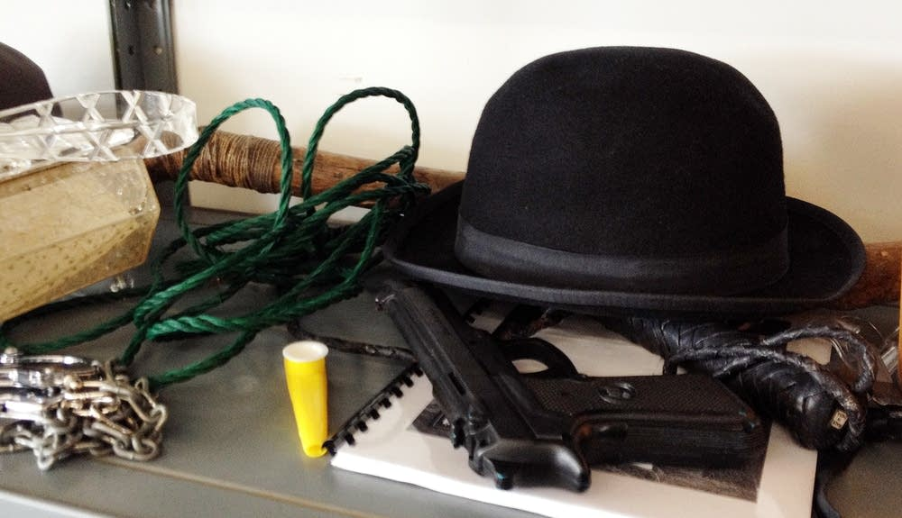 "Props from ""Threepenny Opera"""