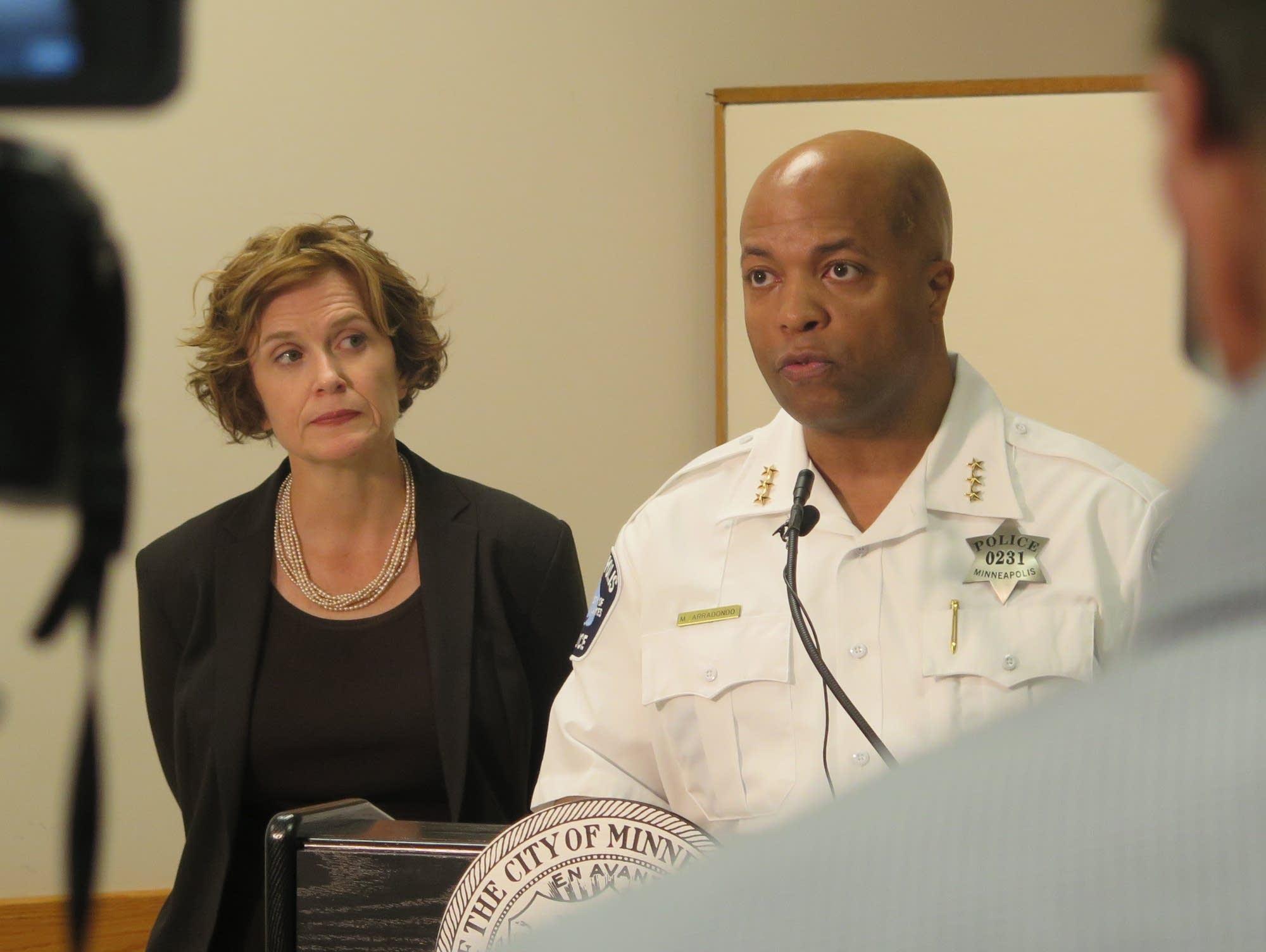 Assistant Police Chief Mederia Arradondo
