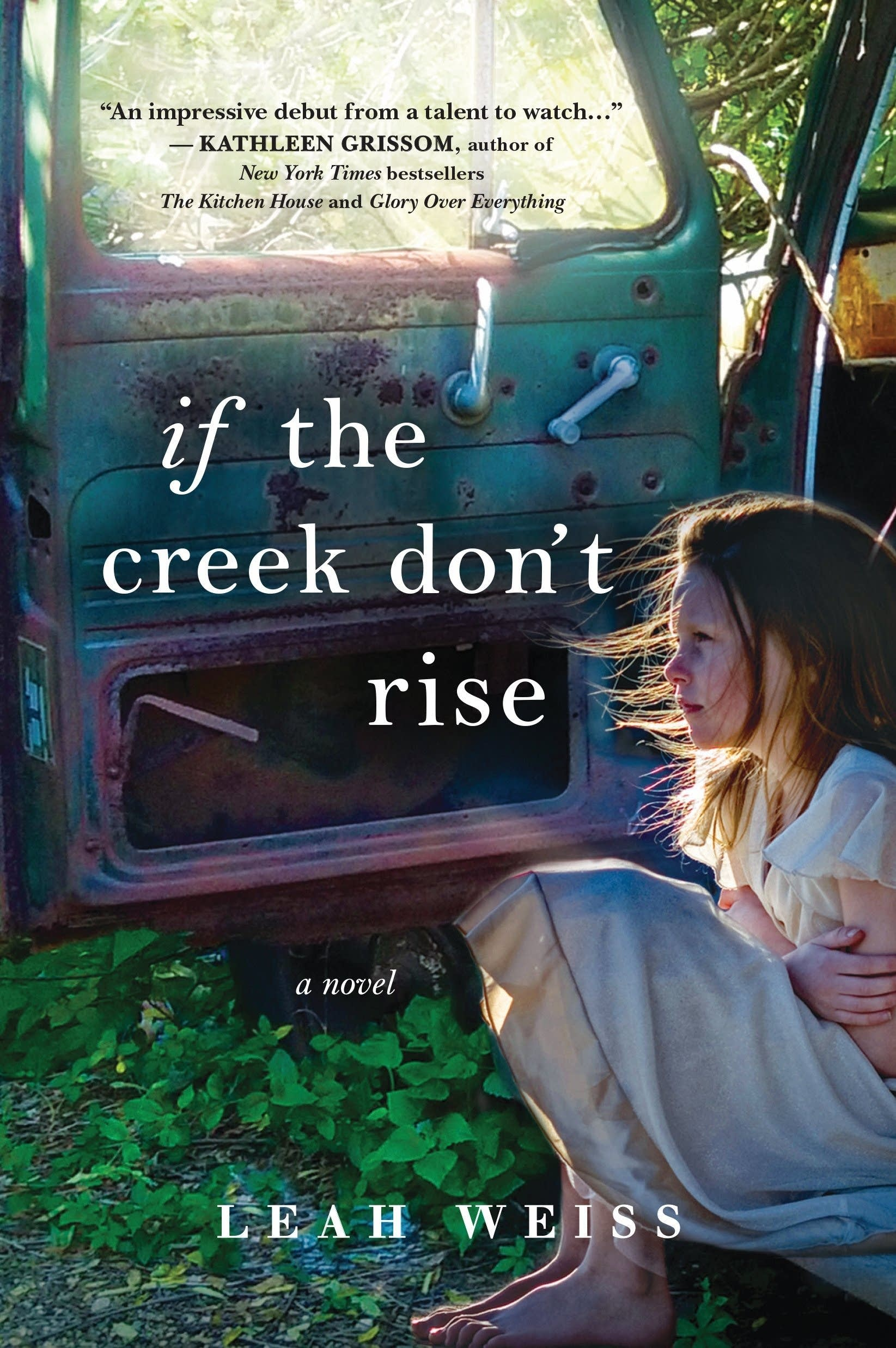 """""""If the Creek Don't Rise"""" by Leah Weiss."""