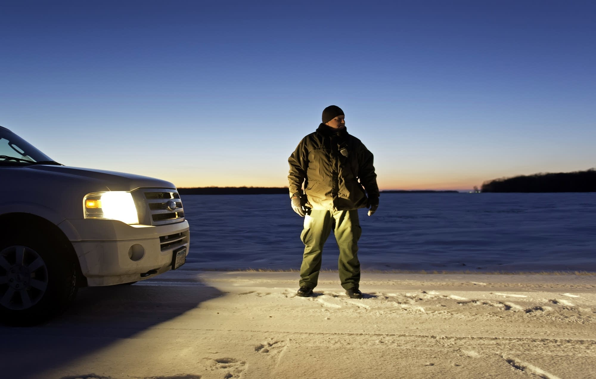 Eric Kuhn, Patrol Agent in Charge for the U.S. Customs in Pembina, N.D.