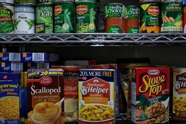 Champlin Park High School food shelf