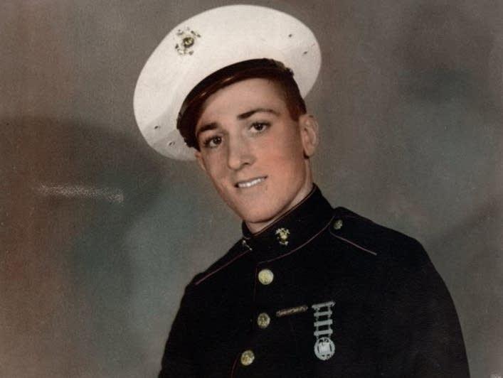 United States Marine Corps Sergeant James Joseph Hubert