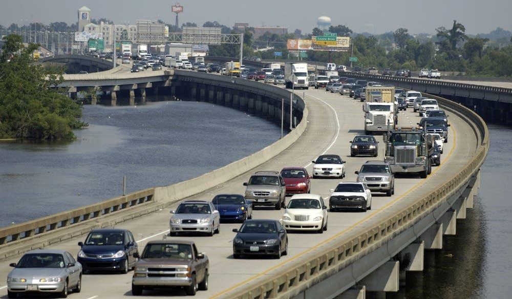 Gulf Coast Area Braces For Tropical Storm Gustav