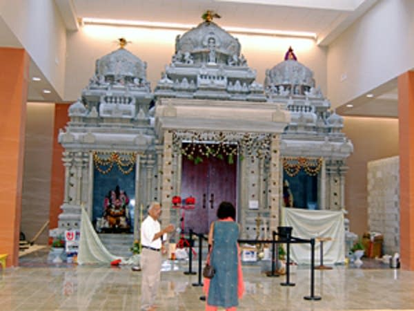 Completed temple