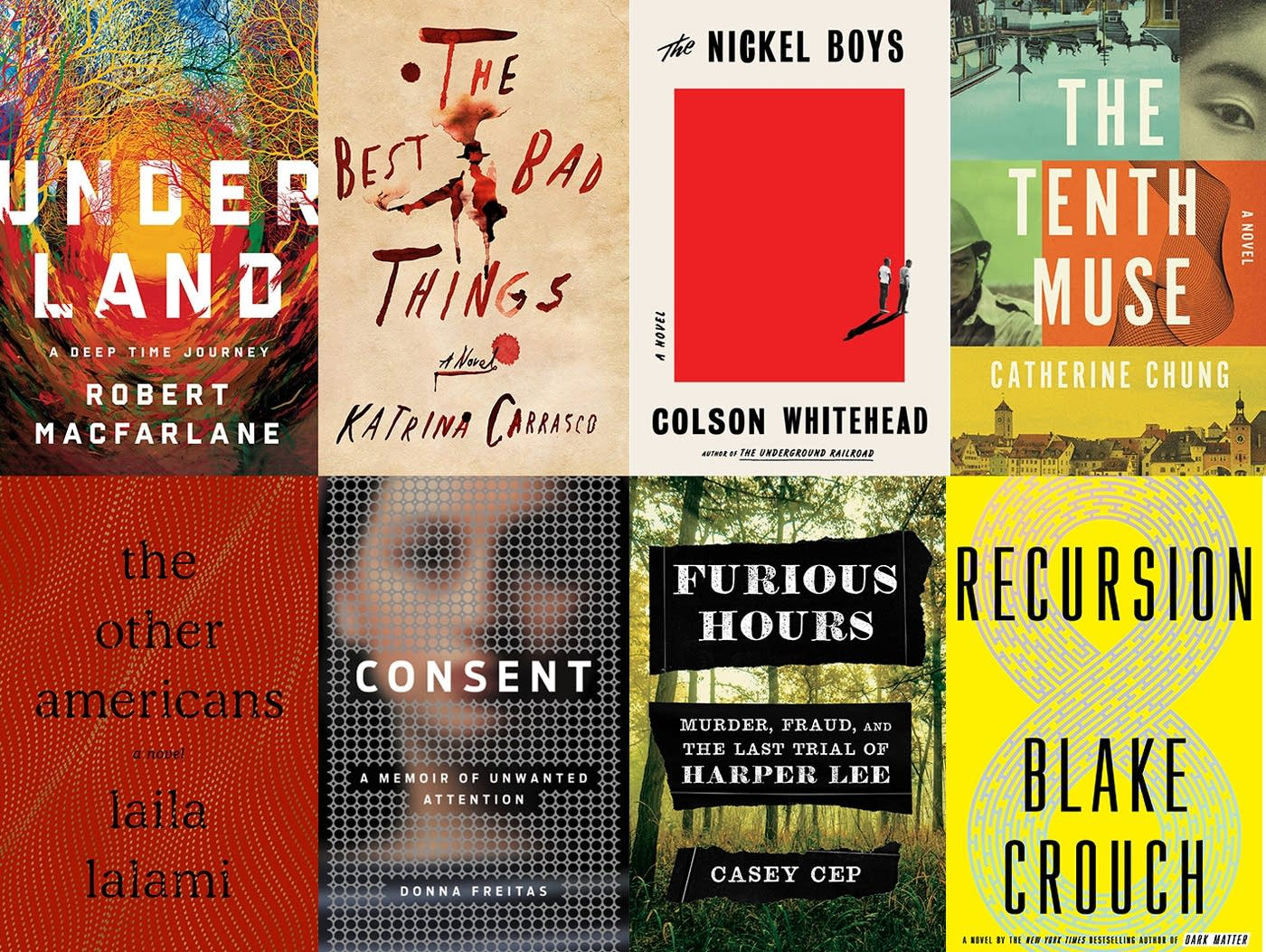 Summer reading recommendations.