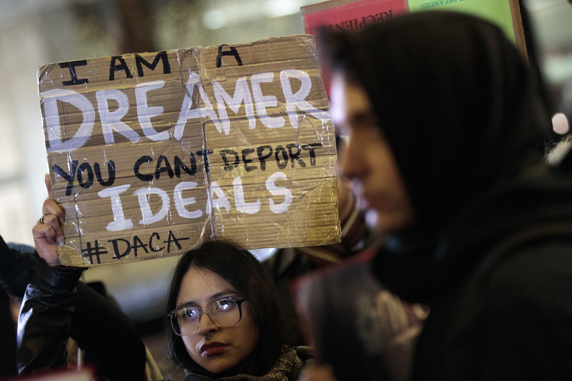 Activists rally for the passage of a 'clean' Dream Act