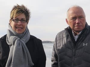 Brenda Boeve and Jonathan Lengkeek, Lake Hendricks Improvement Association