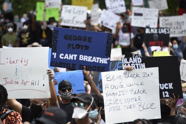 APTOPIX Minneapolis Police Death Protest Georgia