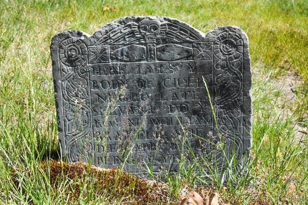 Slave's grave