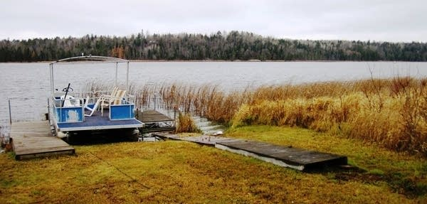 Shingobee Lake.