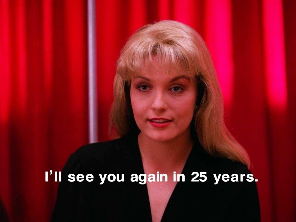 Sheryl Lee as Laura Palmer in 'Twin Peaks'