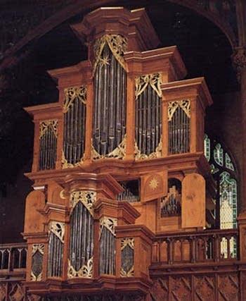 1981 C.B. Fisk organ, Opus 72, at Wellesley College, Massachusetts
