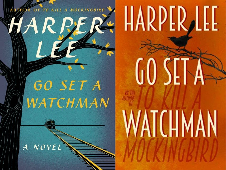 The U.S. and U.K. covers of 'Go Set a Watchman'