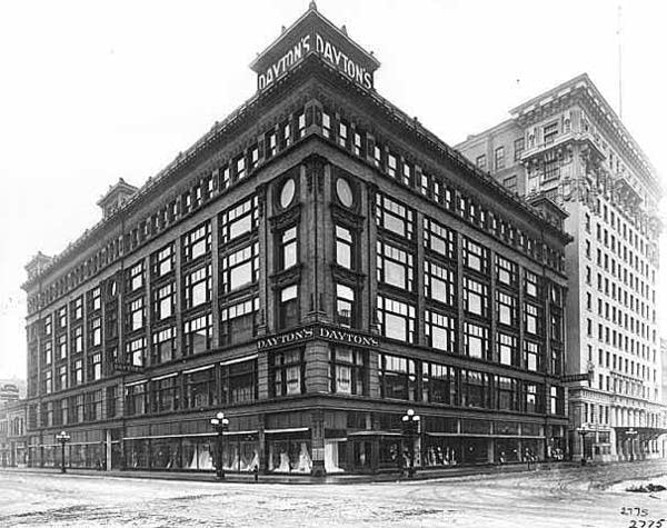 Dayton's department store in Minneapolis