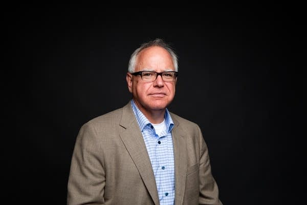 U.S. Rep. Tim Walz sits for a portrait.
