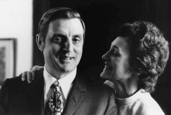 Joan and Walter Mondale