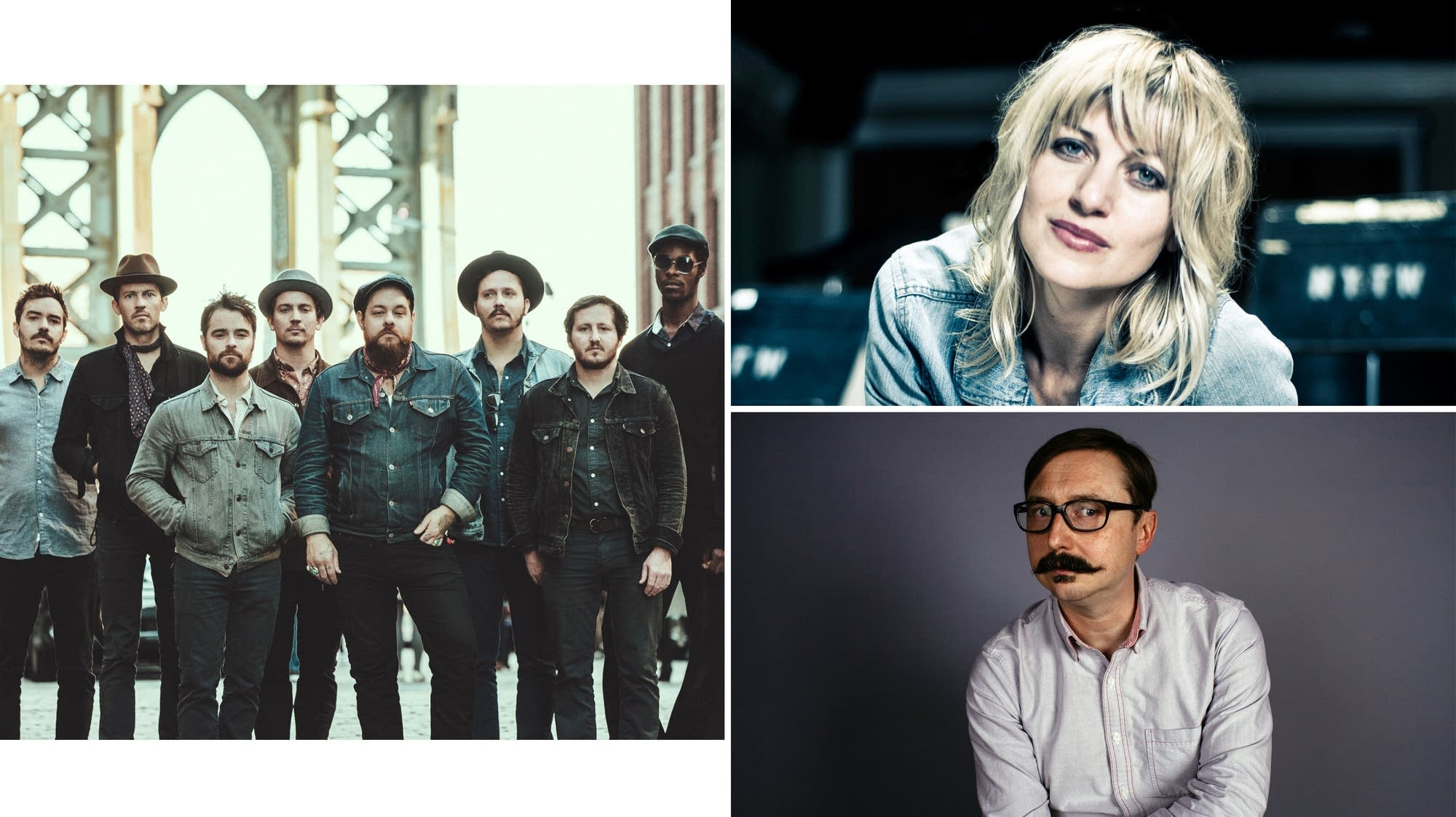 Nathaniel Rateliff & The Night Sweats, Anaïs Mitchell, John Hodgman