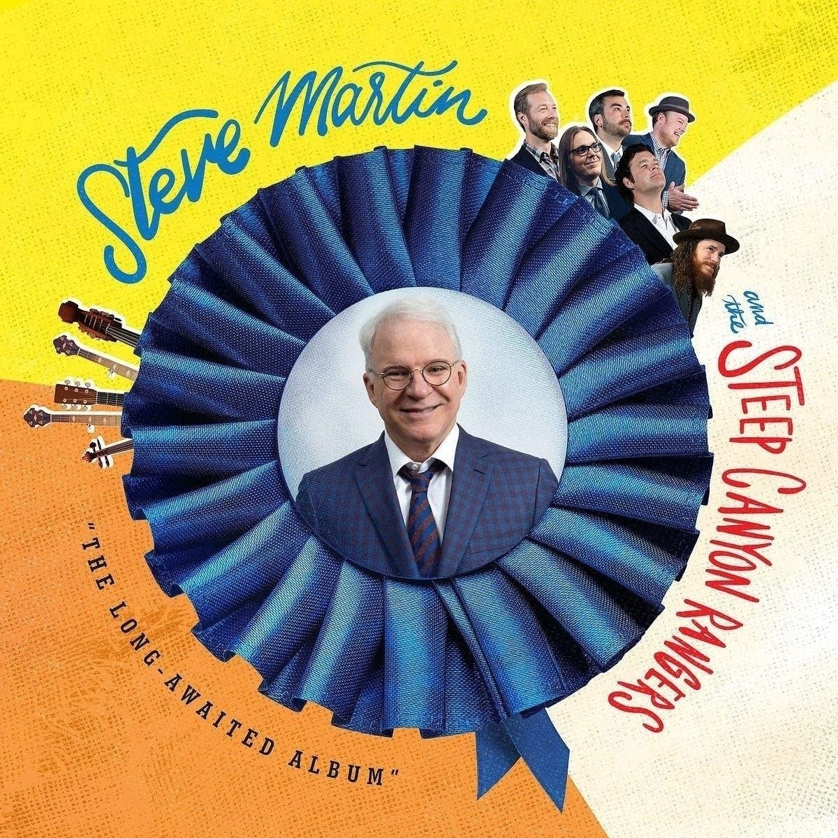 Steve Martin and the Steep Canyon Rangers, 'The Long-Awaited Album'