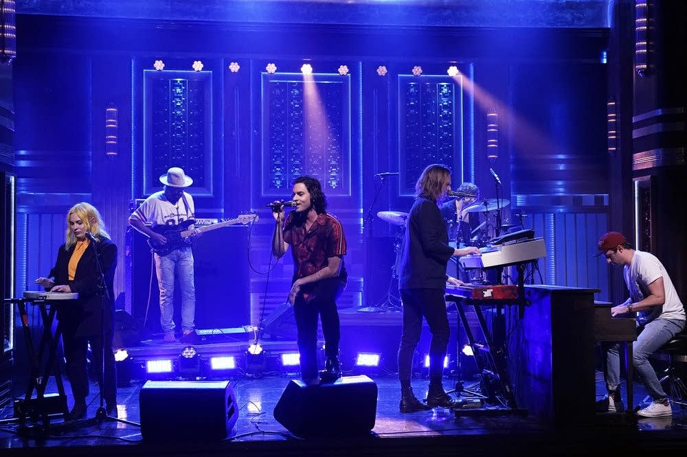 The Head and the Heart perform on 'The Tonight Show' on NBC
