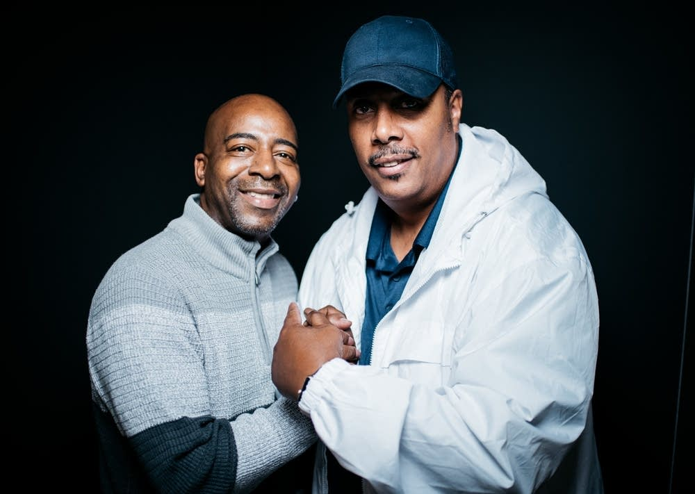 Derrick Stevens and Tony M
