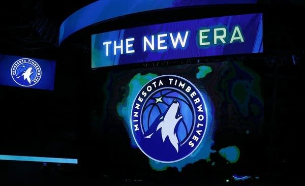 A new Minnesota Timberwolves logo