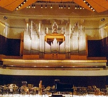 1987 Casavant organ at Jack Singer Concert Hall