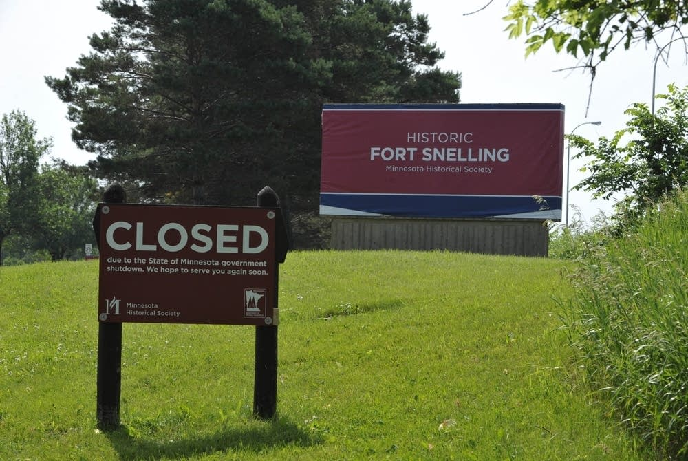 Fort Snelling shut down